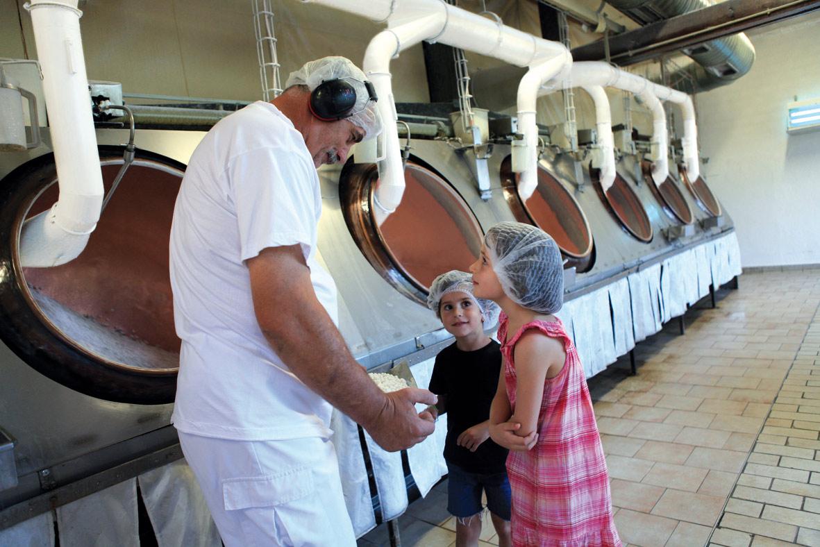 Les enfants visitent la fabrique d'anis BD ©Claire Jachymiak